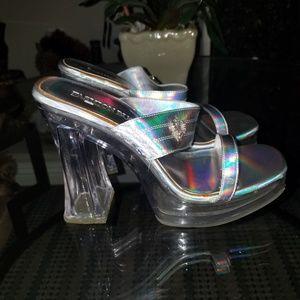 Platform shoes. Super cute.